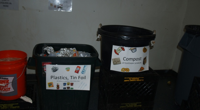 New Rochelle Elementary School Sorts Out Compost, Recycling, Garbage reduced from 22 bags down to less then 1/4 bag