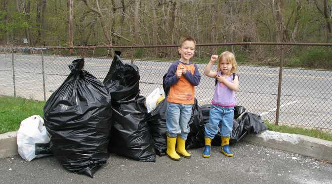 New Rochelle Students Proud of their Earth Day Project