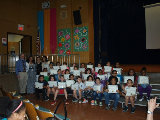 New Rochelle Trinity Students Honored at Green Writing Contest Celebration