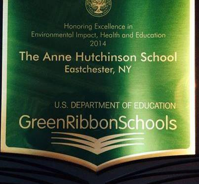 Eastchester Elementary School Is Awarded Green Ribbon Award for Recycling in Washington