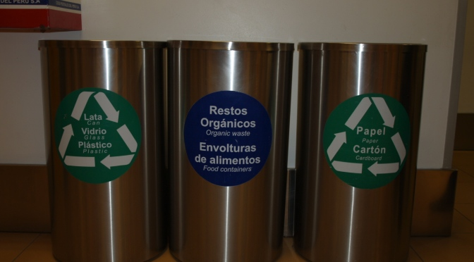 Recycling in Peru, Sorting Organics Out is Second Nature