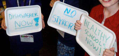 GETTING RESULTS: New Rochelle School District Eliminates Carcinogenic Styrofoam From The Menu
