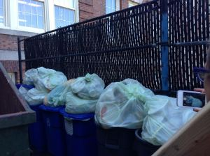 1 week of food waste to be diverted into compost