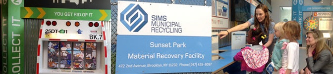 SIMS Recycling Education Center opens in Brooklyn