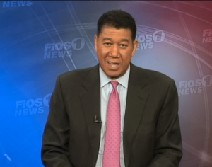 Fios newscaster