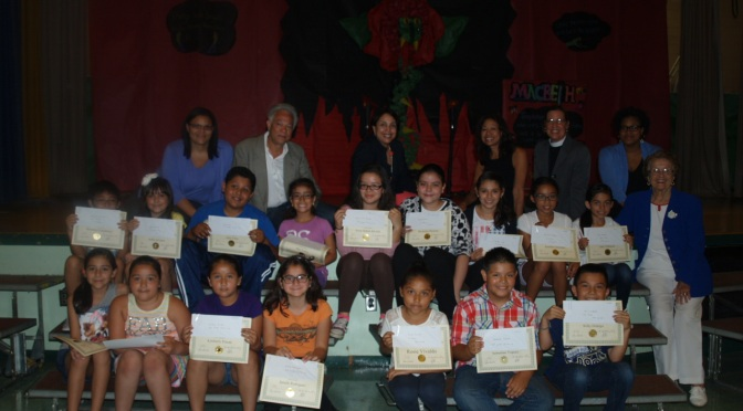 Cash For Columbus School Writing Competition Winners
