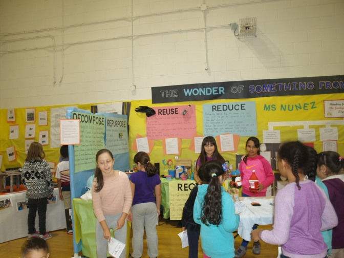 New Rochelle Columbus School Takes Recycling To The Convention
