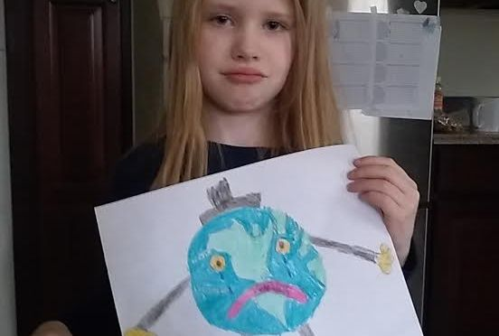 Second Grader Takes a Good Look At What Plastic Bags Do To This Earth…. and doesn't like what she is seeing