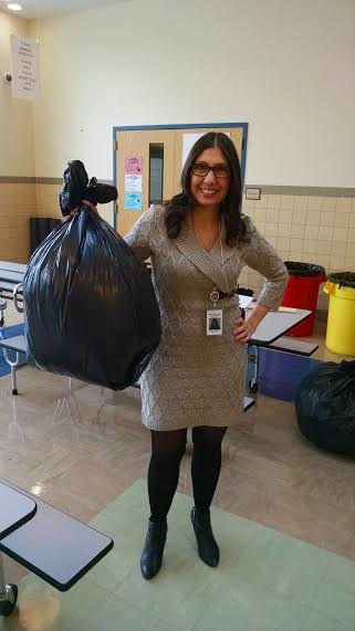 White Plains Post Rd Elementary School proudly reduces garbage by 98%