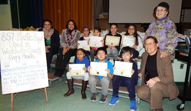 Cash for New Rochelle Columbus Students Essay Contest Winners