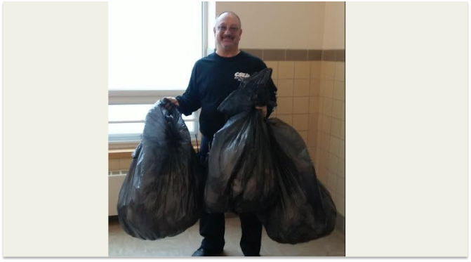 White Plains Post Road School Reduces Night Clean Garbage Beyond Imagination