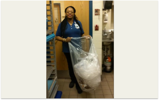 White Plains Schools Also Recycles Soft Plastics….because they can!
