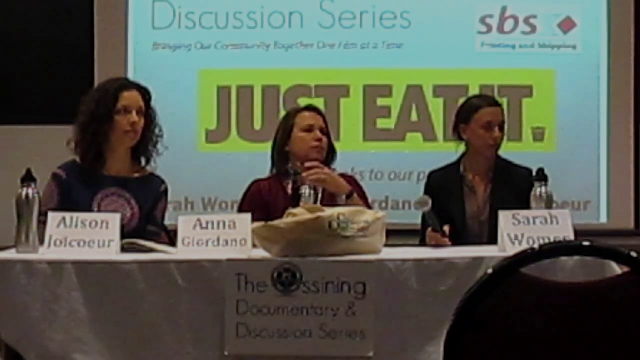 """Just Eat It!"" Panel Discussion Highlights Food Waste Solutions"