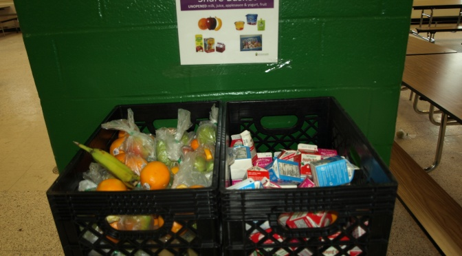 New Rochelle School District Donates Share Basket to HOPE Kitchen Every Day