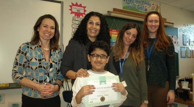 New Rochelle Trinity Student Wins Cash in Essay Writing Contest