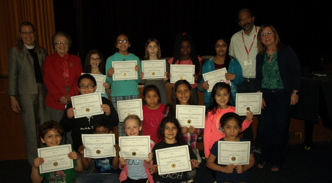 New Rochelle Jefferson Students Win Cash Prizes In Green Writing Contest