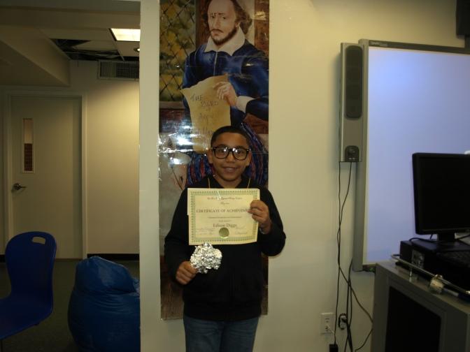 New Rochelle Trinity 5th Grader Wins Research Essay Contest