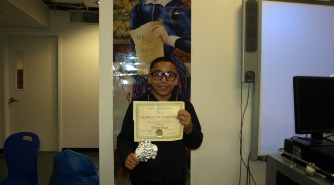 New Rochelle Trinity 5th Grader Wins Research Essay Contest