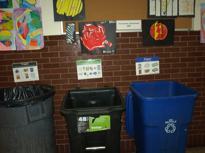 Locker Clean Out! A Recycling Challenge Mastered by New Rochelle IEYMS
