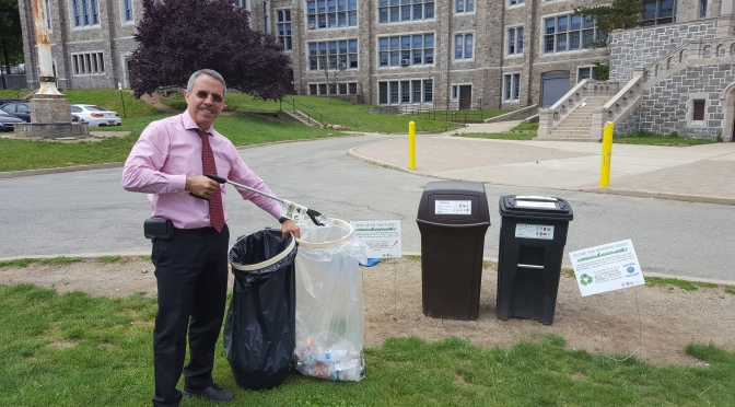 Ball Field Recycling and Litter Mitigation, New Rochelle IEYMS is covering all bases