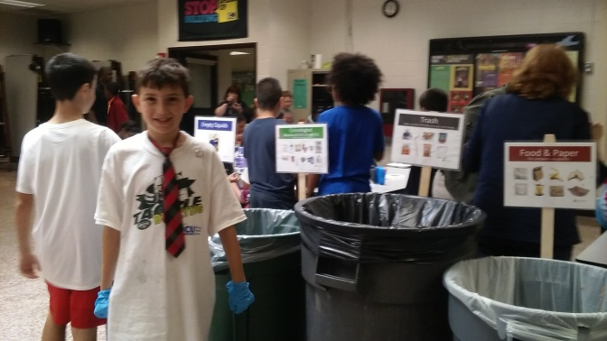 New Rochelle 6th Grader is Taking Action For The Environment