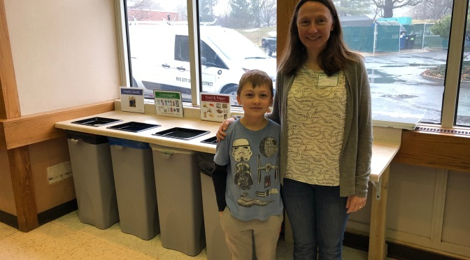 Osborn Elementary in Rye, NY Achieves a 97% Waste Diversion Rate!