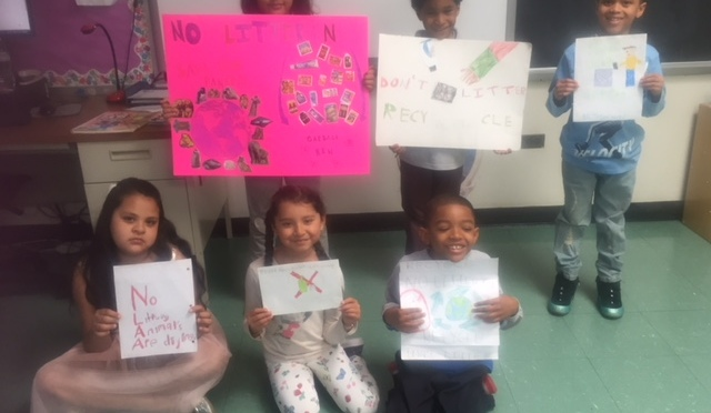 New Rochelle Trinity 2nd Grader Study  Biodegradable and Photodegradable Materials In Our Environment