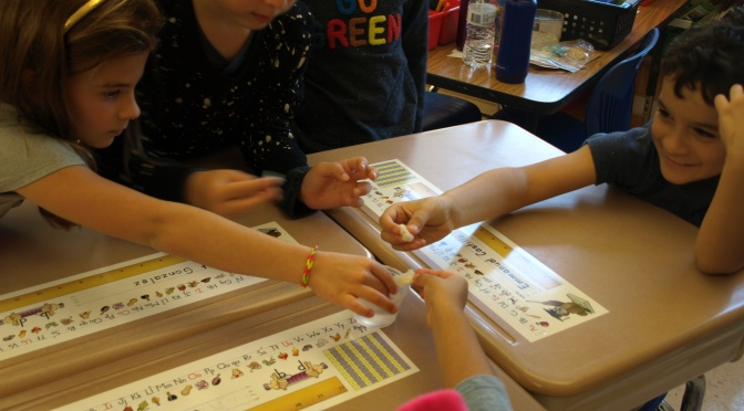 White Plains MAS students learn about inorganic materials in our environment