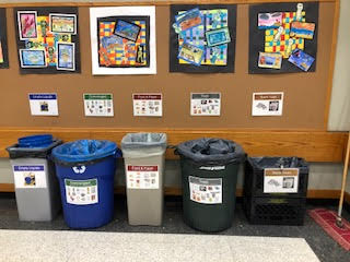 Rye Middle School Diverts 96% waste on first day of We Future Cycle Program