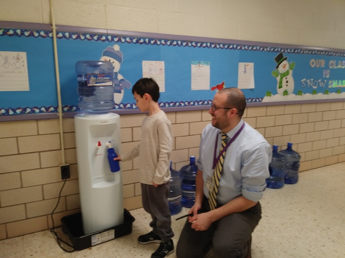 New Rochelle Davis Elementary School replaces thousands of single use water cups with reusable bottles