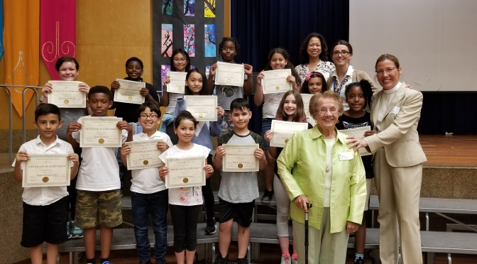 New Rochelle Trinity students write for the environment
