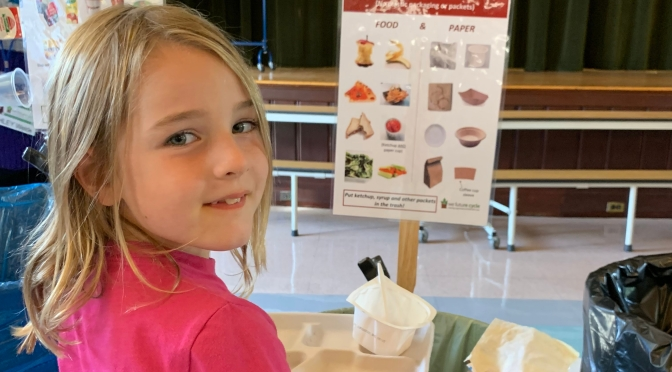 Rye Neck's Daniel Warren Elementary Students Prove Kindergarteners Can Compost!